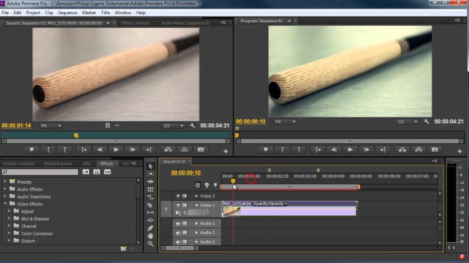 So schärfen Sie Videos mit einem Video Schärfungs Programm